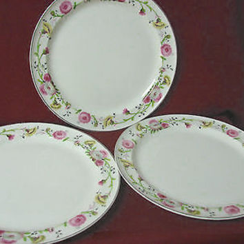Vintage Taylor Smith & Taylor China Dinnerware USA Premier set 3 luncheon