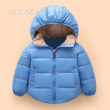 Winter  Baby Coats Snowsuit Cotton Girls Coats And Jackets Newborn  Baby Warm Overall Kids Boy Jackets Outerwear Clothes