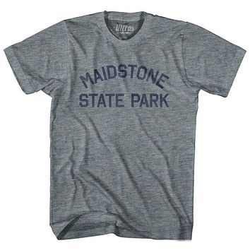 Vermont Maidstone State Park Adult Tri-Blend Vintage T-shirt