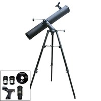 Cassini 1000mm x 120mm Tracker Series Reflector Telescope (Black)
