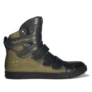 Military Green Prime Trainer Bodybuilding Sneaker