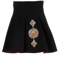 Fausto Puglisi Embellished Pleated Skirt -  - Farfetch.com