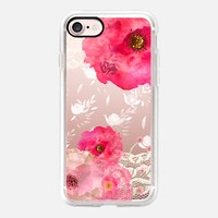 Pink Floral iPhone 7 Capa by Li Zamperini Art | Casetify