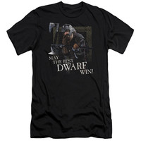 Lord of the Rings The Best Dwarf Black Fine Jersey T-Shirt