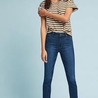 Paige Hoxton High-Rise Skinny Fray Petite Jeans