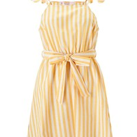 PETITE Yellow Striped Skater Dress - View All - New In