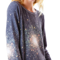 Wildfox Couture Out There Baggy Beach Jumper Multi