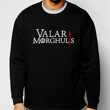 Game Of Thrones 2017 new spring winter fashion Valar Morghulis sweatshirt hoodies men fleece high quality tracksuit for fans