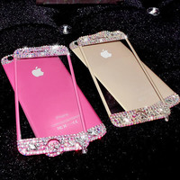 Handmade Toughened Glass Screen Protector for iPhone