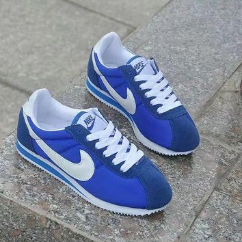 """Nike Cortez"" Classic Unisex Sport Casual Cloth Surface Running Shoes Couple Retro Sneakers"