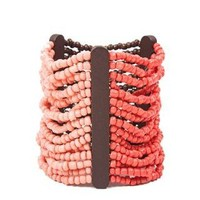 MUTLI ROW BEADED STRETCH BRACELET