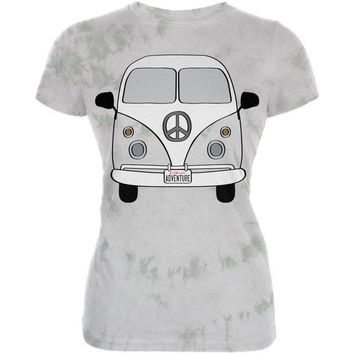 PEAPGQ9 Halloween Travel Bus Costume Camper Adventure Juniors Premium Soft T Shirt