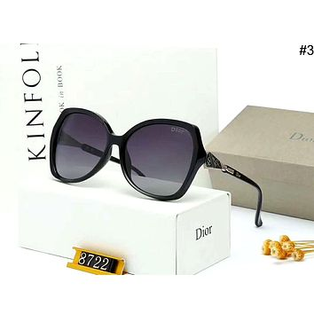 Dior personality wild female models driving polarized sunglasses #3