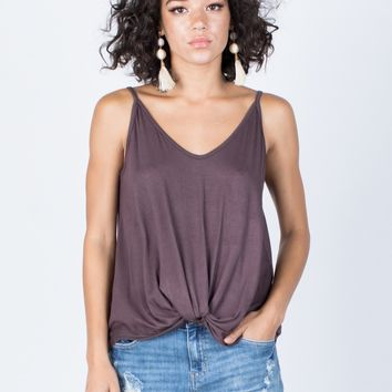 Fun Knotted Tank