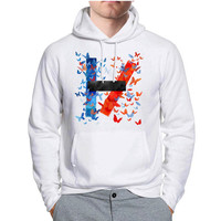 Twenty One Pilots Butterfly Logo Band Music Hoodie -tr3 Hoodies for Man and Woman