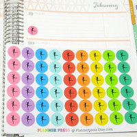 Dance Reminder Planner Sticker for Erin Condren Life Planner (ECLP) Reminder Sticker