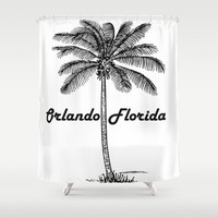 Orlando Florida Shower Curtain by PRODUCTPICS