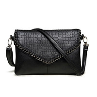 Women Fashion Soft PU Leather Crossbody Messenger Bags