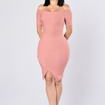 Made For You Dress - Mauve