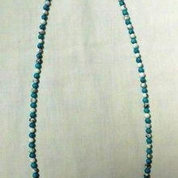 Necklace Turquoise Stones Southwest American Indian Navajo