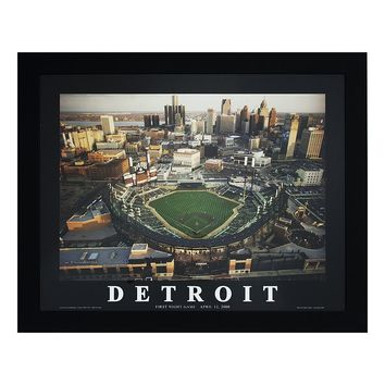 Decor Therapy ''Detroit'' Framed Wall Art
