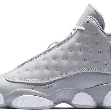 BC QIYIF Air Jordan 13 Wolf grey GS