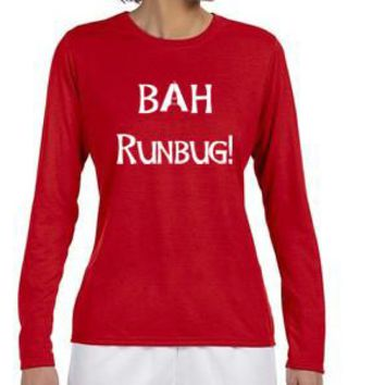 ARS BAH Runbug LS technical running tee- Womens