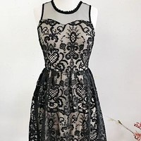 FAIRY TALE DRESS- BLK