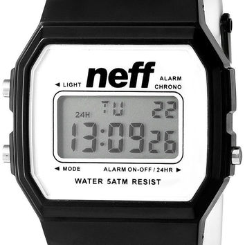 Neff Unisex Water Resistant Flava Watch Black Stripe