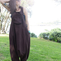 Funky Overalls,Pure Cotton Overalls,Loose Fitting, Handmade Maternity Trousers,