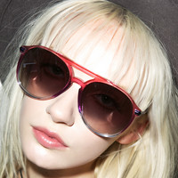 Wildfox Couture Baroness Sunglasses Night Fall One