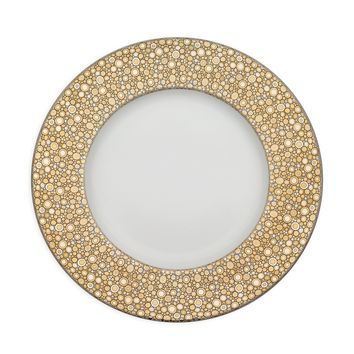 Ellington Shimmer (Gold & Platinum) 10.75 Dinner Plate