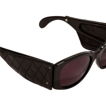 Chanel Quilted Leather Sunglases