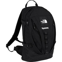 Supreme & The North Face New fashion couple high capacity backpack bag