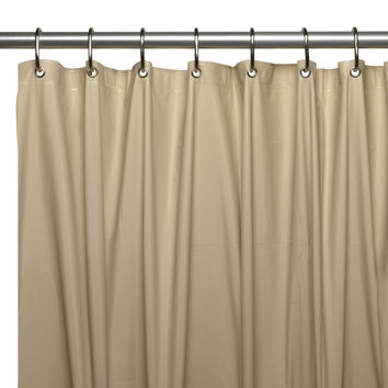 Royal Bath 8 Gauge Vinyl Shower Curtain Liner - Linen