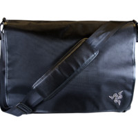 "17"" Stealth Messenger Satchel for the Razer Blade - Buy Gaming Grade Accessories - Official Razer Online Store (United States)"