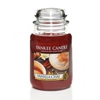 Vanilla Chai Scented Candle : Large Jar Candle : Yankee Candle