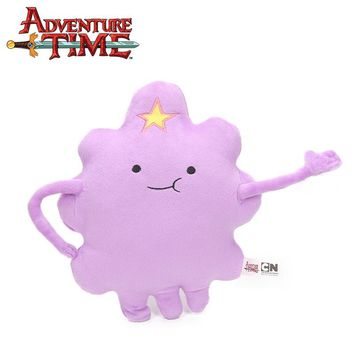 Movie 28cm Lump Space Princess Plush Toy Adventure Time Toys Purple Clouds Plush Soft Stuffed Animal Dolls Toys Party Supplies