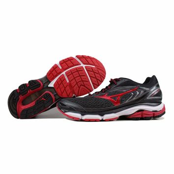 Mizuno Wave Inspire 13 Grey/Black-Red J1GC174461