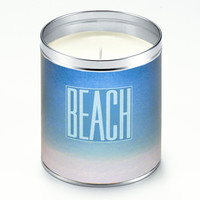 Panoramic Beach Candle