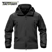 TACVASEN Army Camouflage Men's Military Tactical Jacket