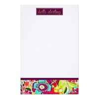 Girly Hello Darling Stationary