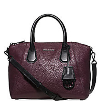 MICHAEL MICHAEL KORS - Medium Campbell Leather Satchel - Saks Fifth Avenue Mobile