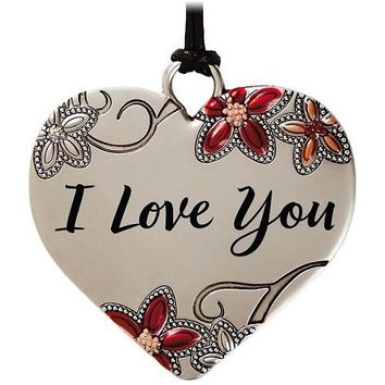 Heart Metal Ornament