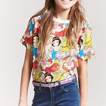 Girls Snow White Tee (Kids)