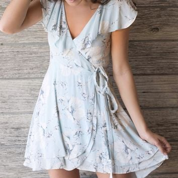 Free People French Quarter Wrap Dress