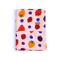 Kip & Co AW15 Very Berry Fitted Cot Sheet - Leo & Bella