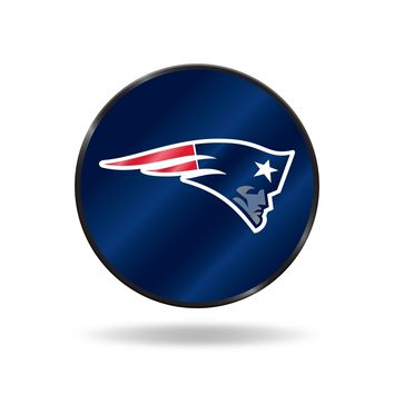 PATRIOTS LASER DISCUS DECAL