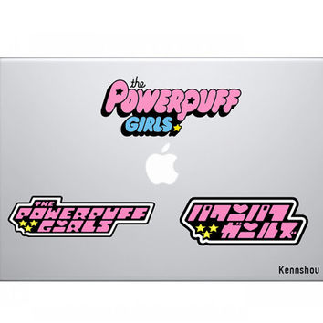 The Powerpuff Girls Vinyl Stickers