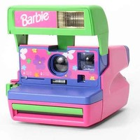 Impossible Vintage Barbie Polaroid Instant Camera Set- Pink One